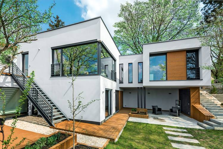 Modern családi ház Budaörsön